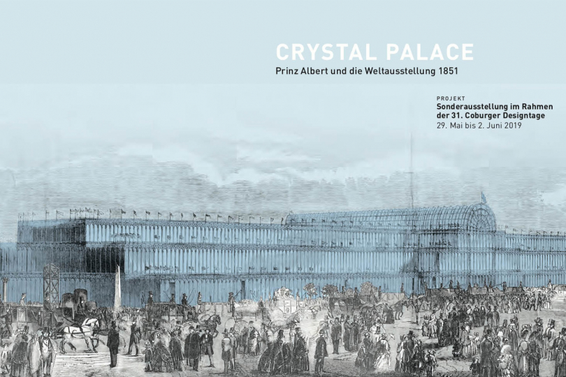 "Ausstellung ""Crystal Palace - Albert als Visionär"" ab 28. Mai in Coburg"