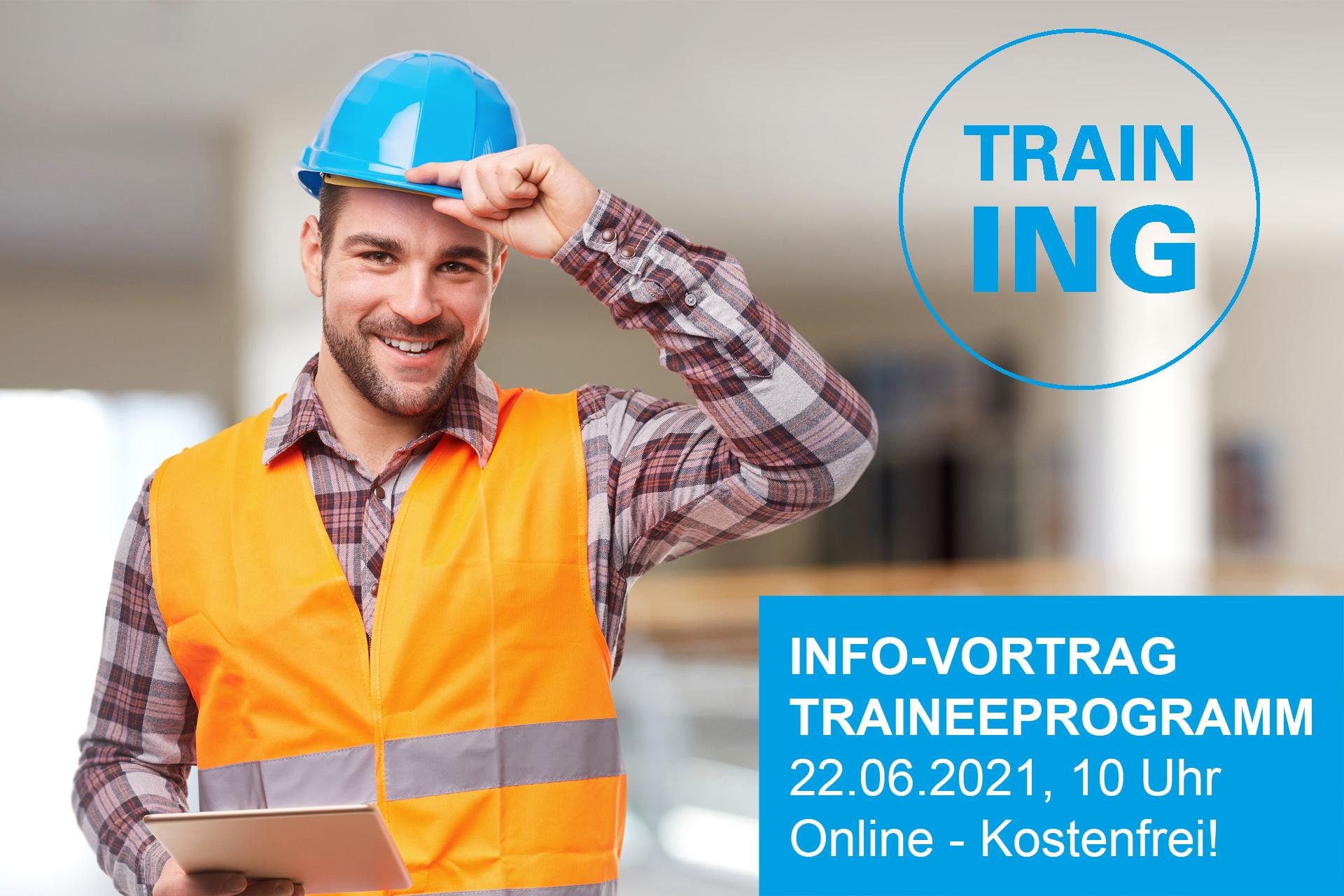 Info-Vortrag zum Traineeprogramm 2021/2022 (Online)