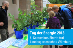 Save the Date: Tag der Energie am 8. September 2018 in Würzburg